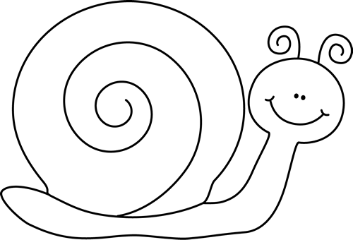 PNG Snail Black And White - 86831