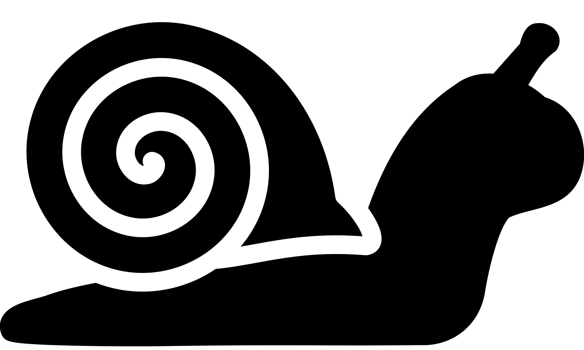 Open PlusPng.com  - PNG Snail Black And White