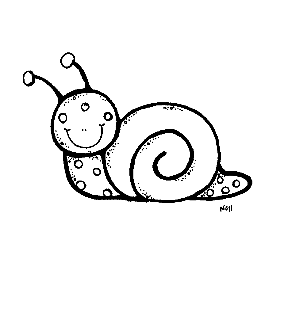 PNG Snail Black And White - 86832