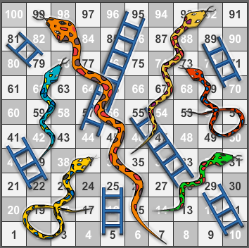 PNG Snakes And Ladders - 84403