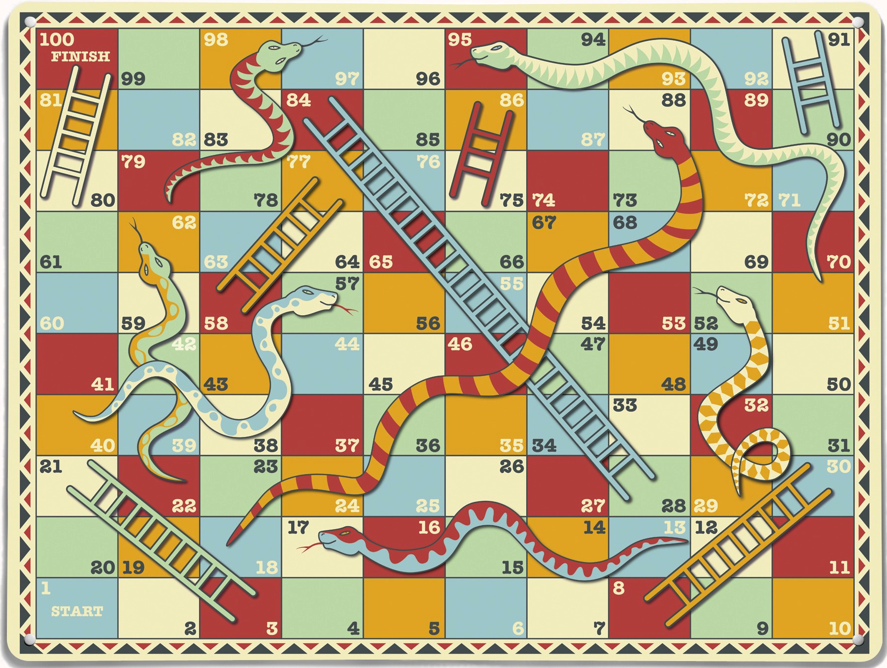 PNG Snakes And Ladders - 84408