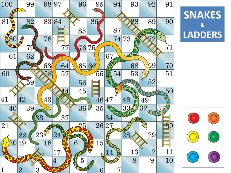 PNG Snakes And Ladders - 84405