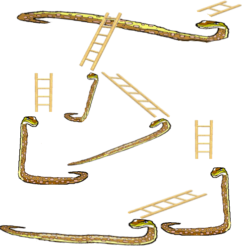 PNG Snakes And Ladders - 84413