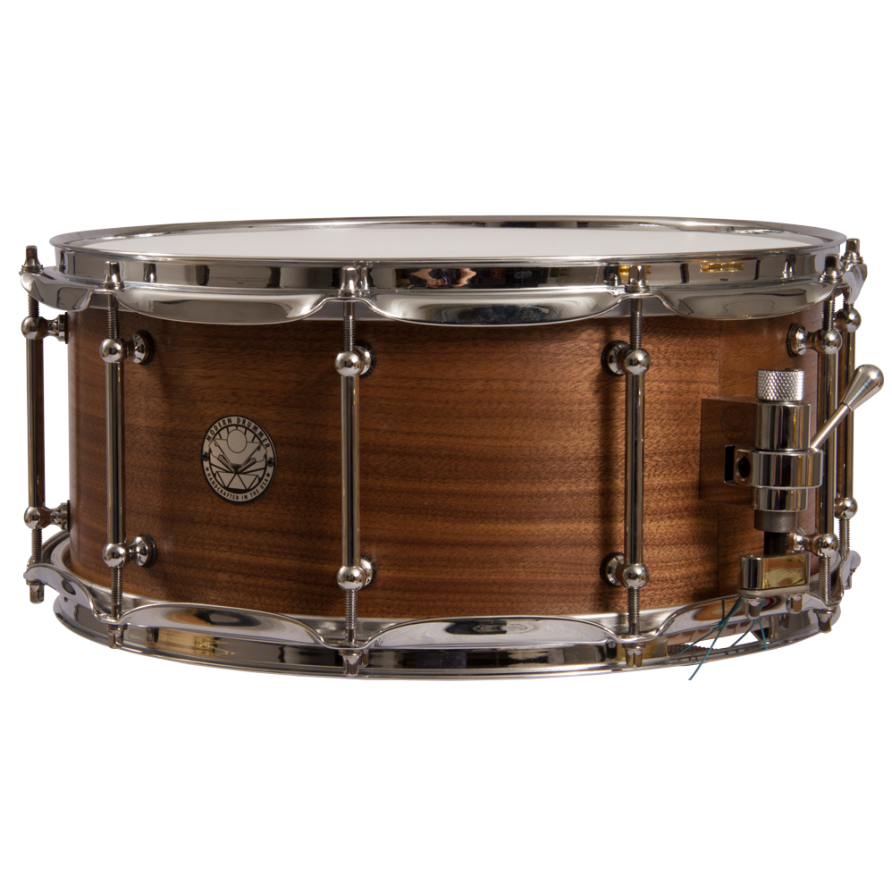 40th Anniversary Walnut/Poplar Snare Drum - PNG Snare Drum