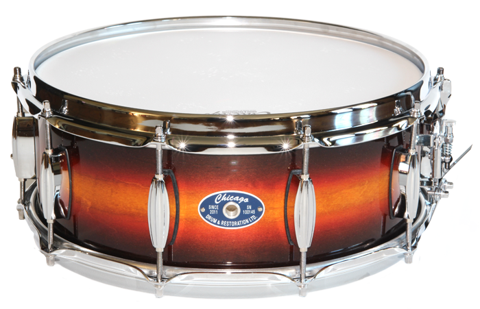 Autumn Burst Snare Drum - PNG Snare Drum