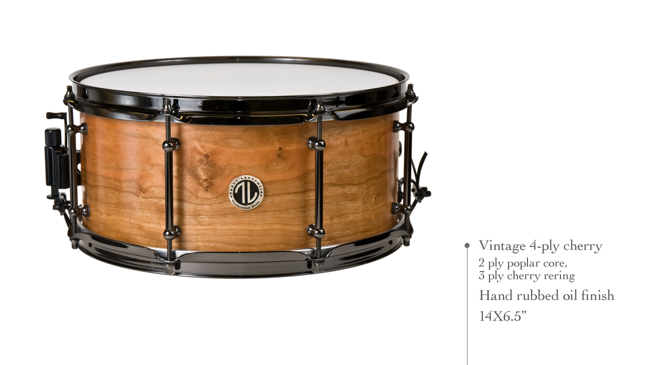 TL Drums 4-ply cherry snare PlusPng.com  - PNG Snare Drum