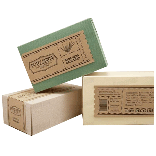 Kraft Soap Boxes - PNG Soap Box