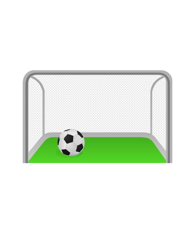 Soccer goal, soccer goal, soccer ball, - PNG Soccer Goal
