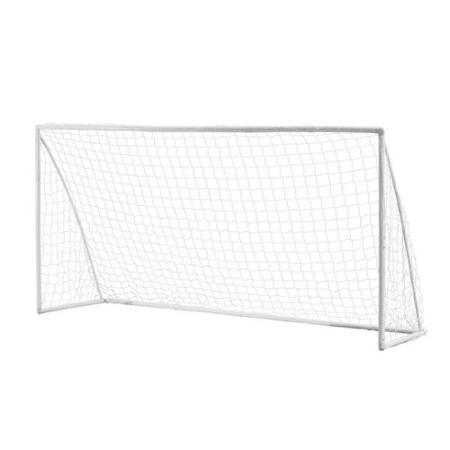 Woodworm 12u0027 x 6u0027 Portable Plastic Soccer Goal PlusPng.com  - PNG Soccer Goal