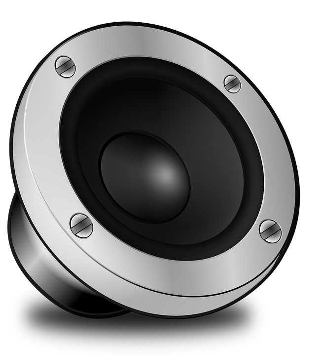 Alto Falante, Volume, Alto, Som, Músicas, Áudio - PNG Som