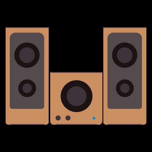 alto-falantes caixa de som definido png - PNG Som