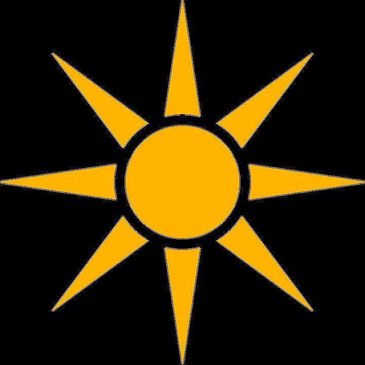 Sonne, Icon, Wetter, Heiß, Scheinen, Wolken, Stimmung - PNG Sonne