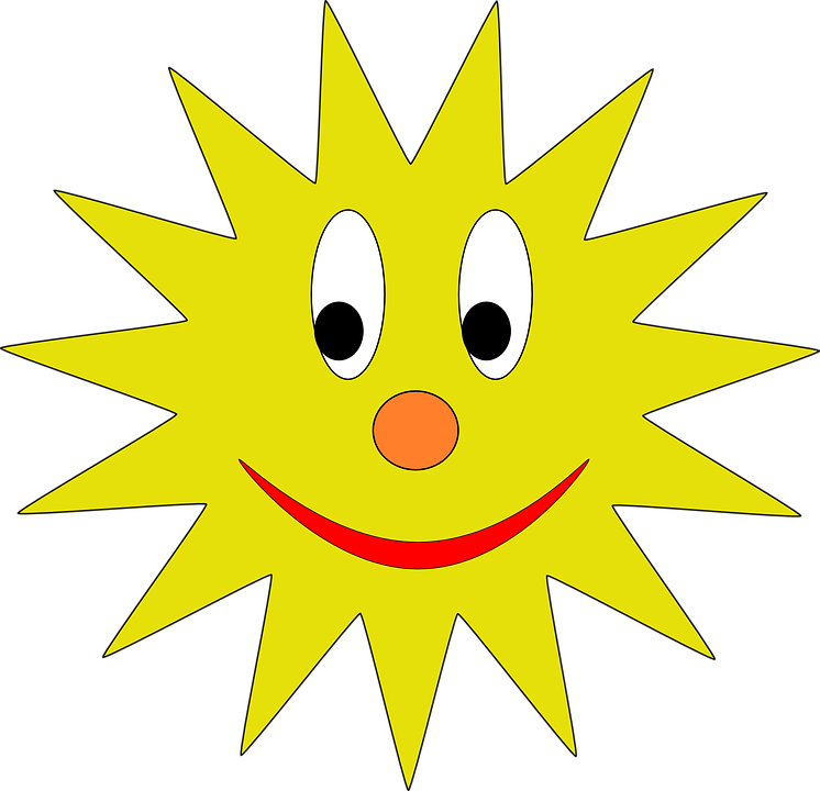 Sonne, Smiley, Lächelnd, Avatar, Sonnenschein, Gelb - PNG Sonne