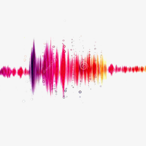 Color sound waves, Color, Red, Yellow PNG Image - PNG Sound Waves