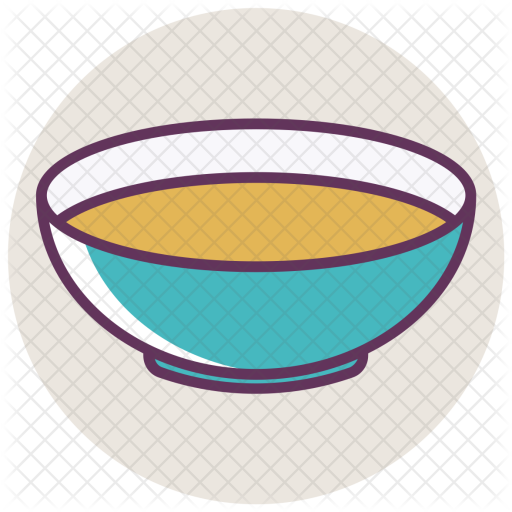 Soup, Bowl, Dinner, Food, Light, Liquid, Plate Icon - PNG Soup Bowl