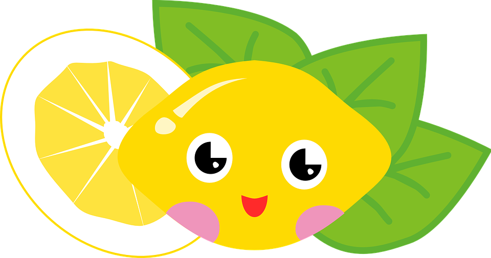 Lemon, Fruit, Sour, Citrus, Face, Funny, Happy - PNG Sour
