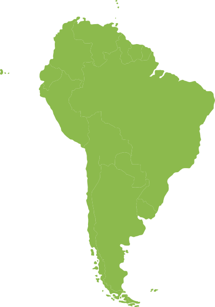 Download this image as: - PNG South America