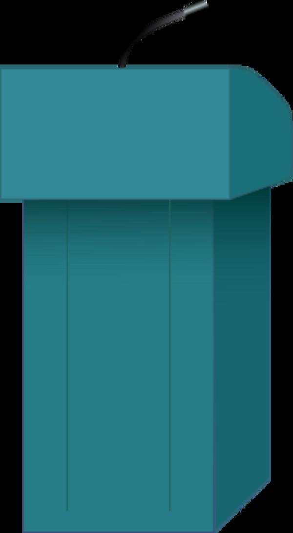 PNG Speaker At Podium - 86454