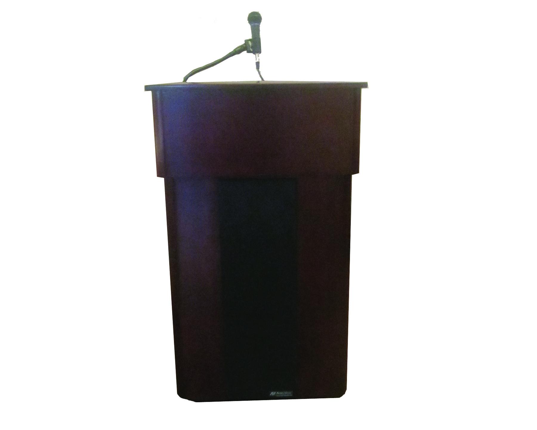 PNG Speaker At Podium - 86457