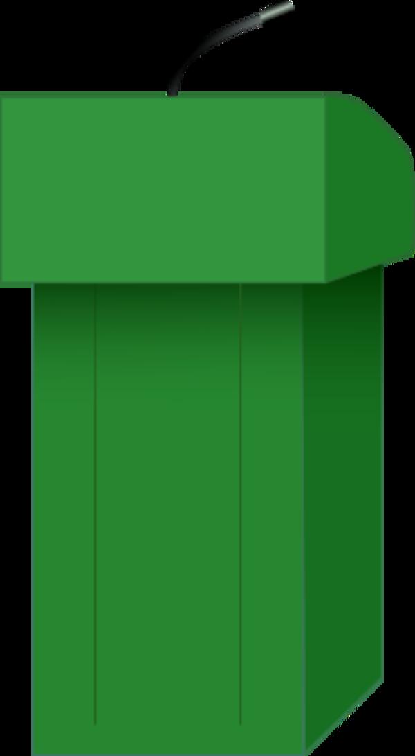 PNG Speaker At Podium - 86461