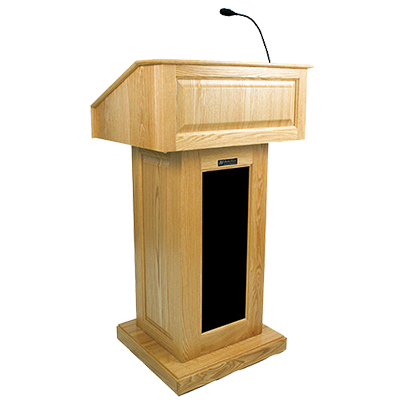 Cliparts Speaker Podium #2806