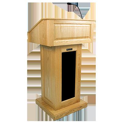 PNG Speaker At Podium - 86456
