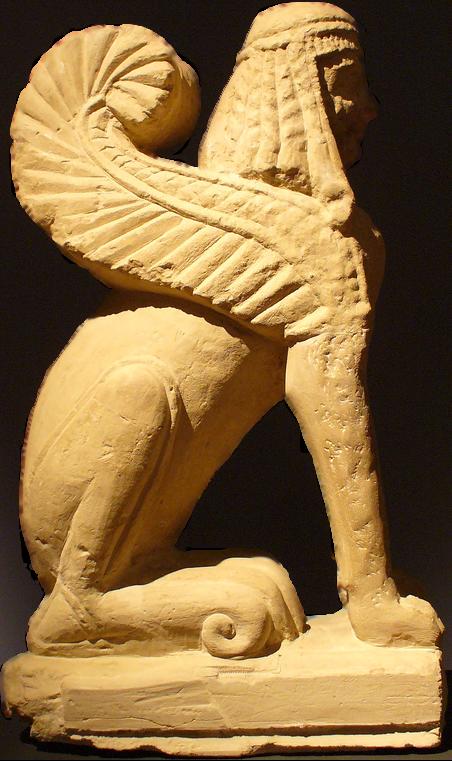 File:Chiusi etrusc sphinx.png - PNG Sphinx