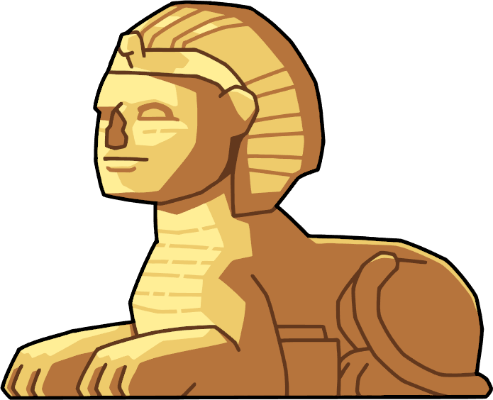 Image - Sphinx Structure.png | Scribblenauts Wiki | FANDOM powered by Wikia - PNG Sphinx
