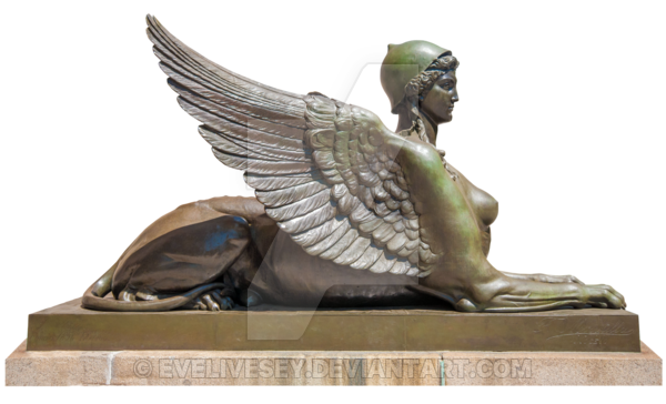 Sphinx Statue PNG by EveLivesey - PNG Sphinx