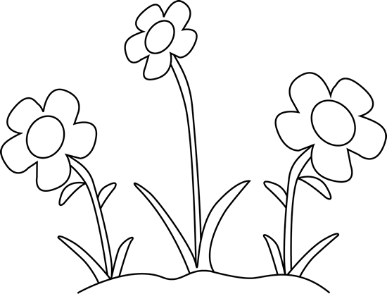 Spring Outline Cliparts #2678298 - PNG Spring Black And White