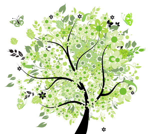 Image - Green Spring Tree PNG Clipart Picture.png | Animal Jam Clans Wiki |  FANDOM powered by Wikia - PNG Spring Tree