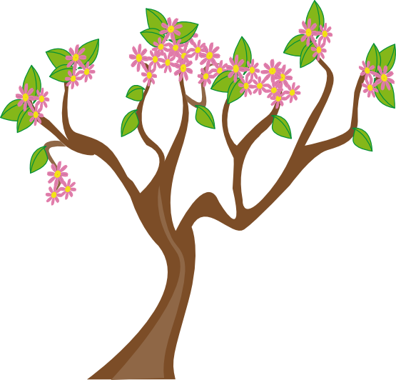 Spring Tree 555px.png - PNG Spring Tree