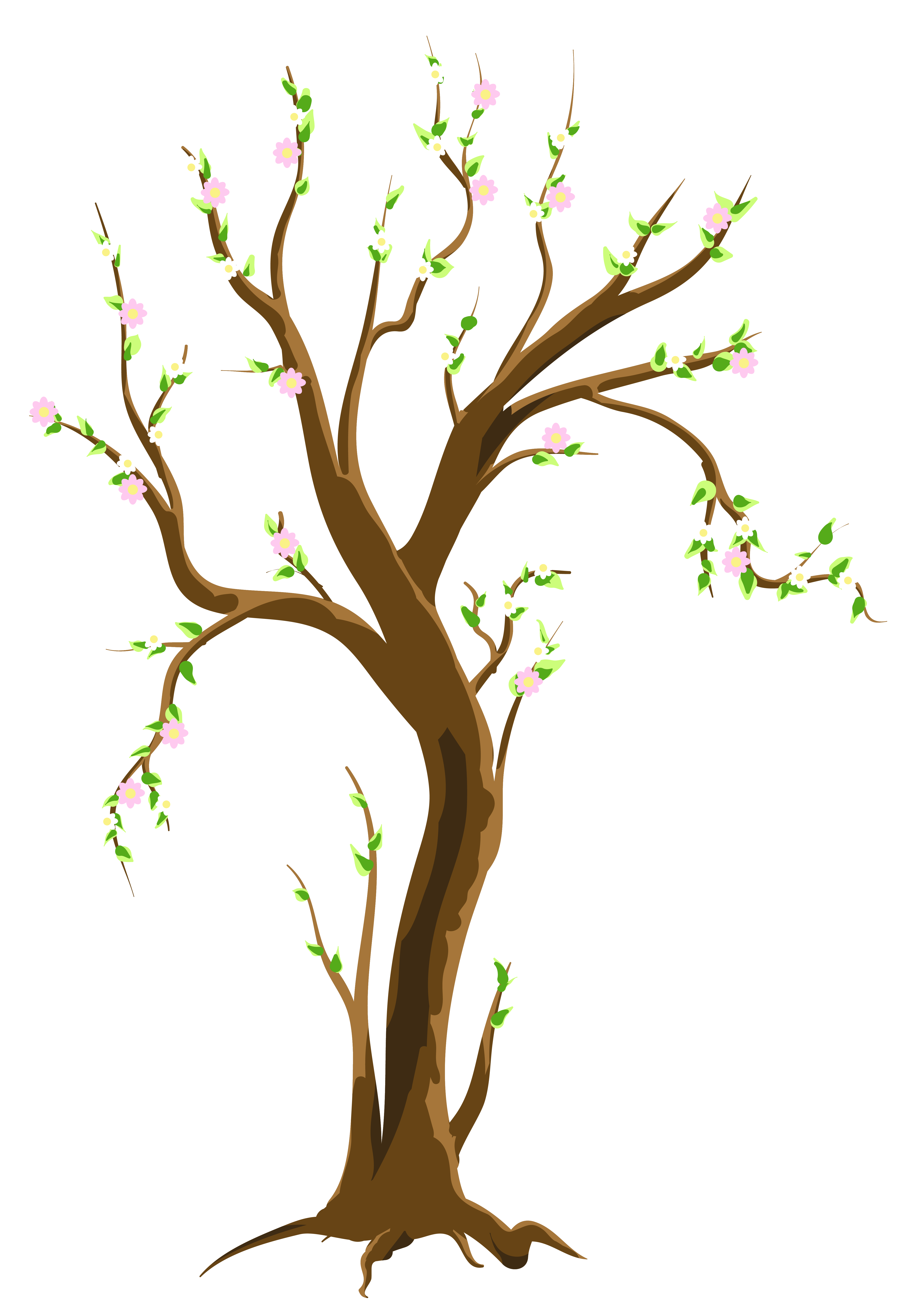 Spring Trees Cliparts #2623432 - PNG Spring Tree