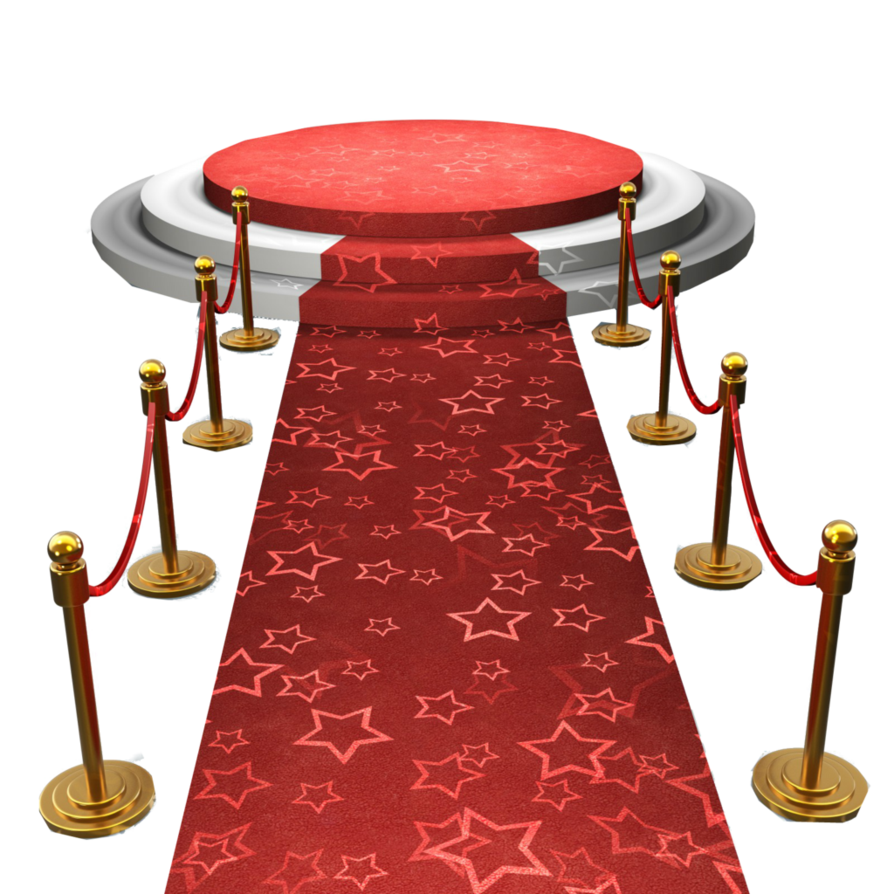 Red Carpet Stage PNG by WWEDivasFan4Life PlusPng.com  - PNG Stage