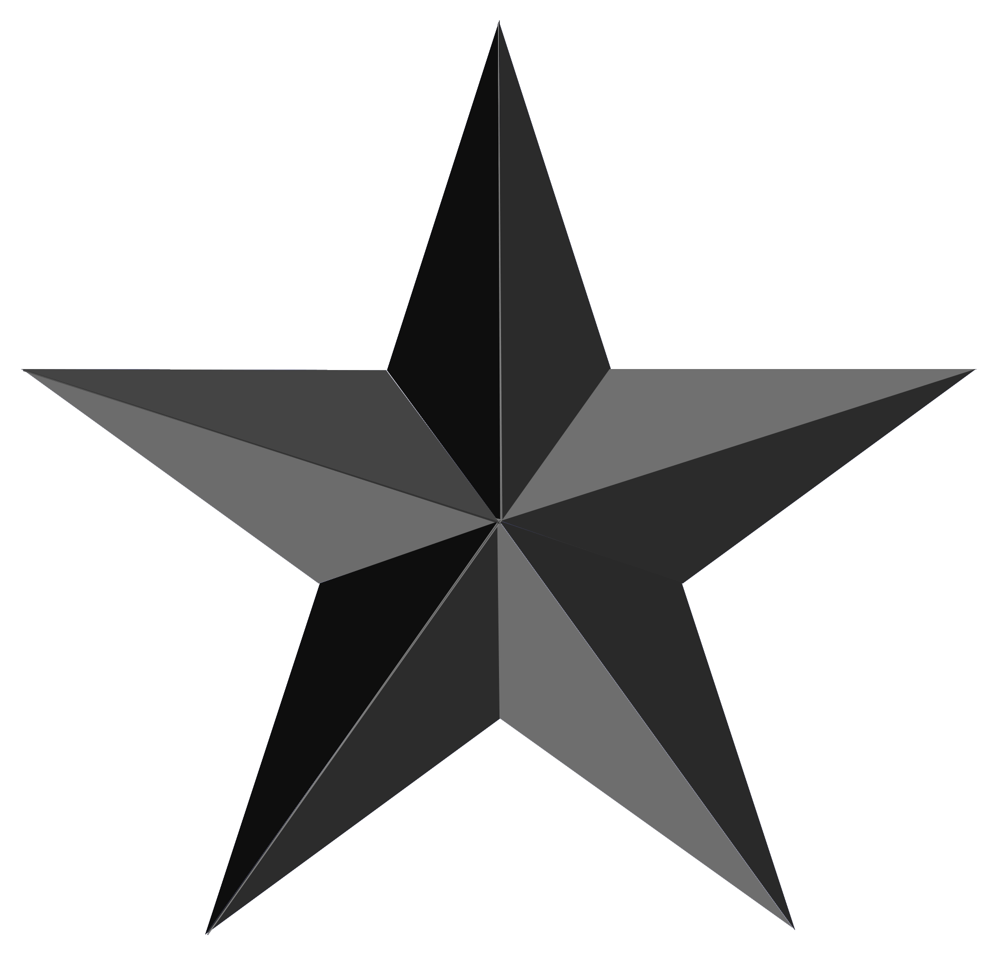 File:Black star.png - PNG Star Black And White