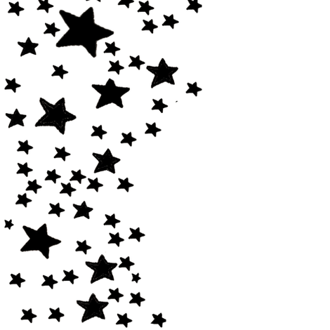 PNG Star Black And White - 60956