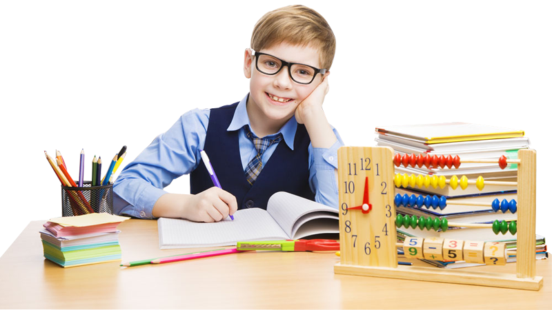 PNG Student Studying - 61156