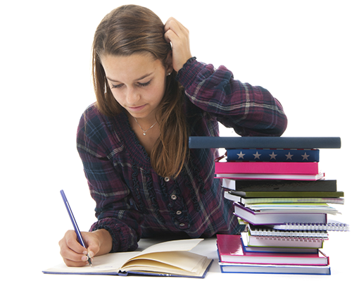 PNG Student Studying - 61170