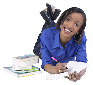 PNG Student Studying - 61161