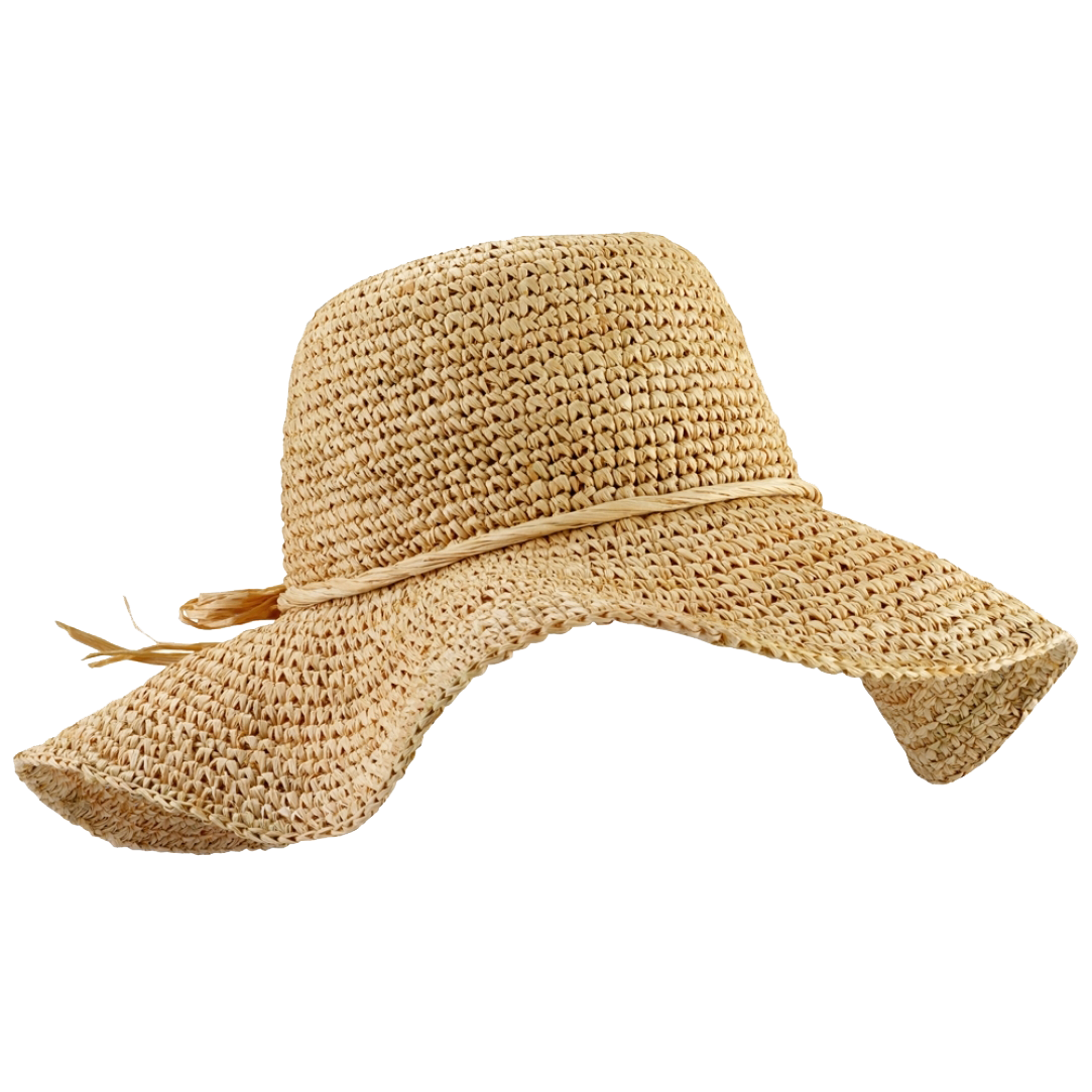 Raffia Hat PNG File - PNG Sun Hat