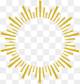 Golden sun rays personality, Golden Sun, Sun, Personality PNG Image - PNG Sun Rays