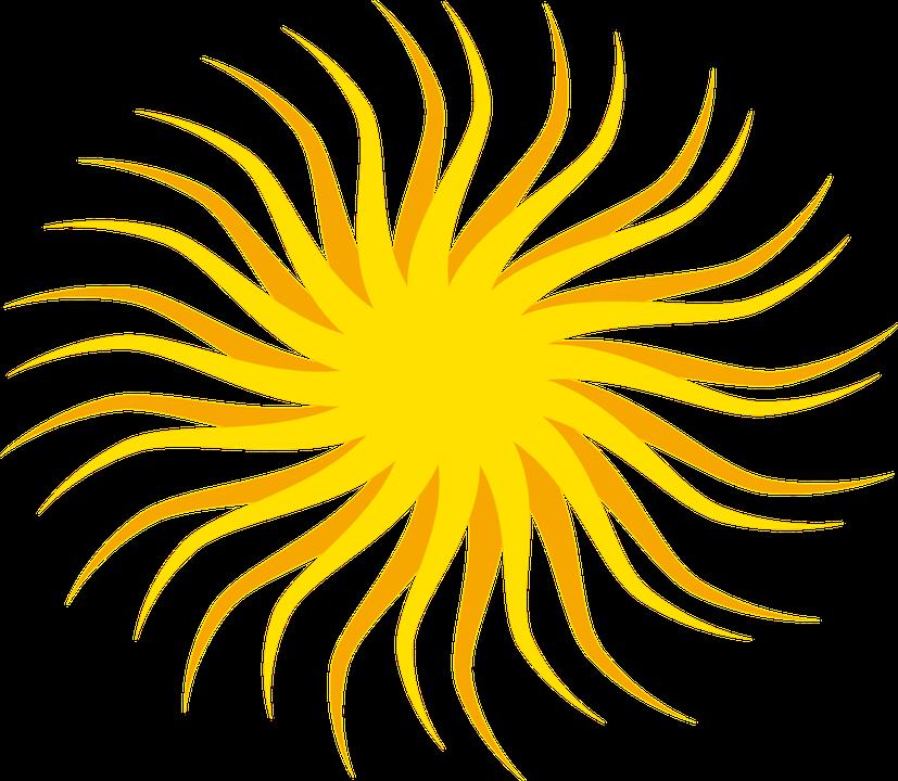 Sun, Rays, Sunlight, Sunny, Sunshine, Bright, Sky - PNG Sun Rays