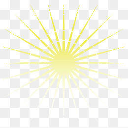Vector yellow sun rays, Yellow, Radiation, Light PNG and Vector - PNG Sun Rays