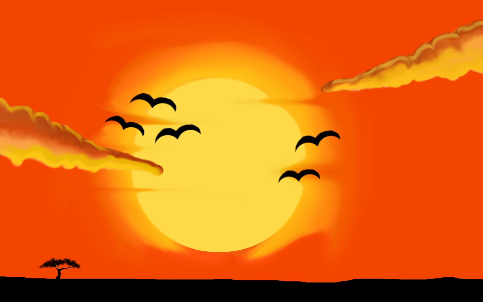 Sunrise by larabunny Sunrise by larabunny - PNG Sunrise
