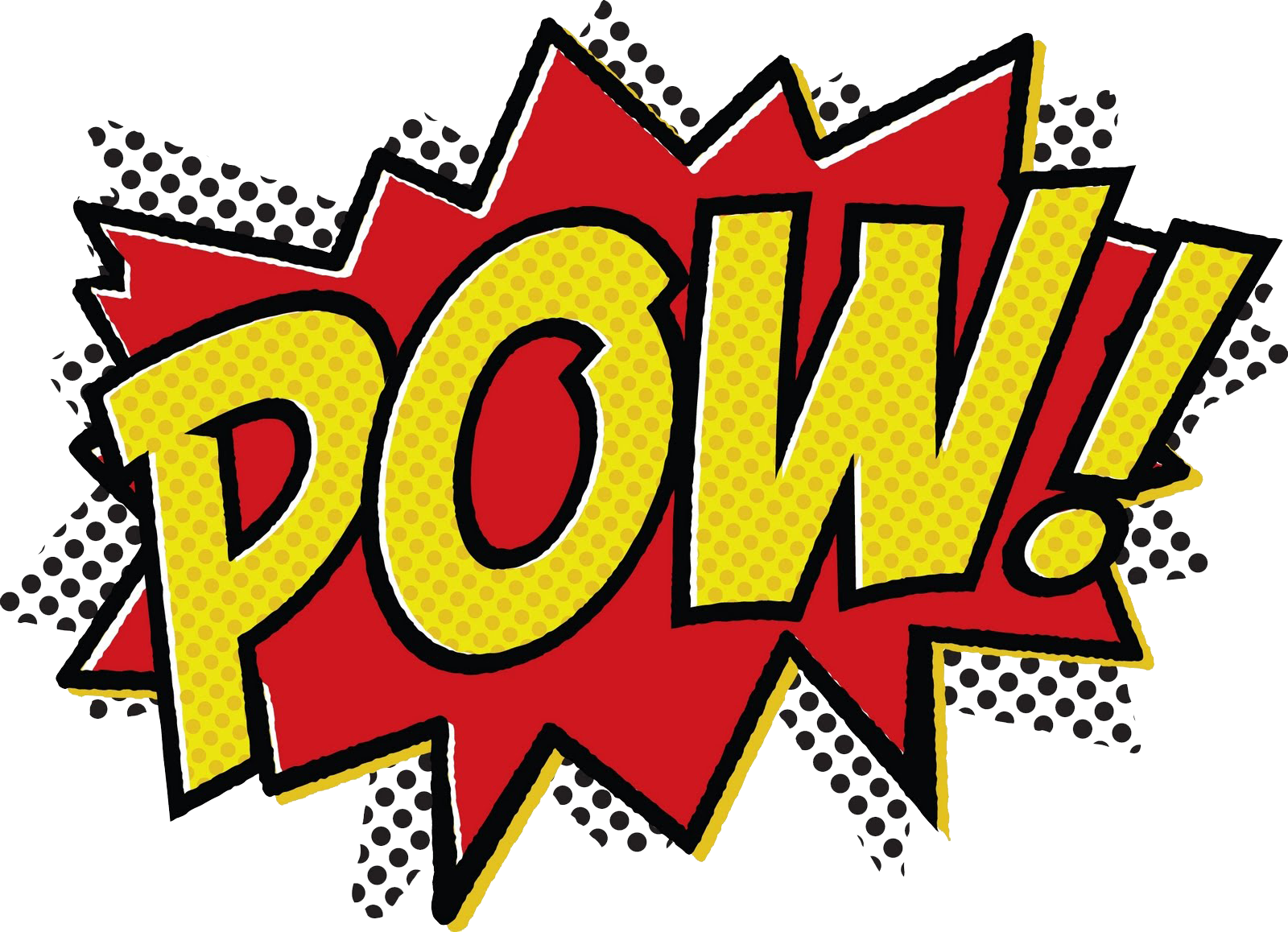 Super Hero Words Clip Art C1f