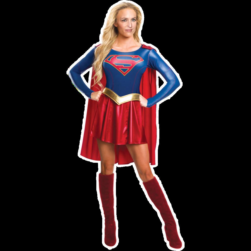 . PlusPng.com Superwoman Gillian Anderson PNG by Drum-Solo-1986 - PNG Superwoman