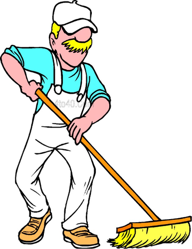 Free Icons Png:Old Man Sweeping Png - PNG Sweeping
