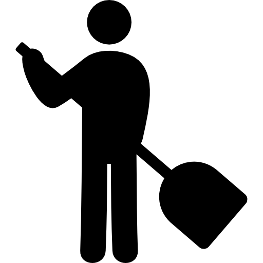 Sweeping person free icon - PNG Sweeping