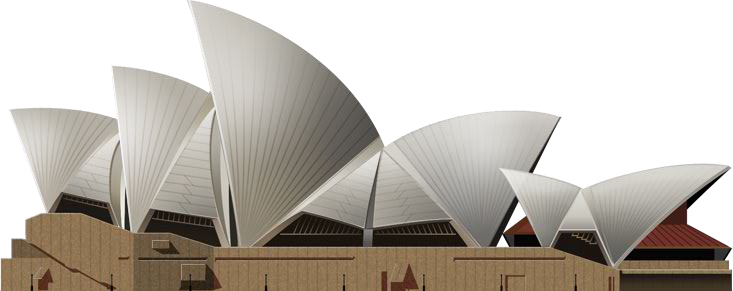 PNG Sydney Opera House-PlusPNG.com-733 - PNG Sydney Opera House