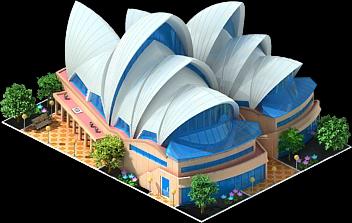 PNG Sydney Opera House - 57805